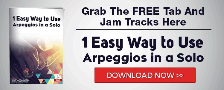 1 Easy Way to Use Arpeggios in a Solo