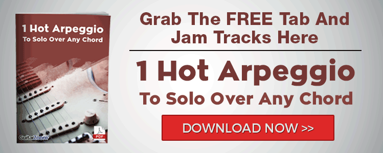 1 Hot Arpeggio To Solo Over Any Chord