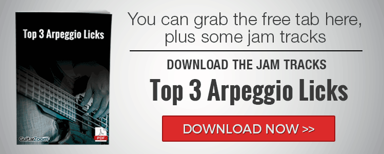 Top 3 Arpeggio Licks