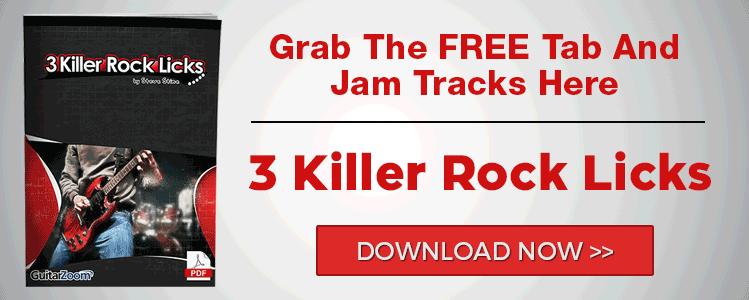 3 Killer Rock Licks