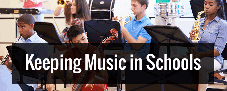 Keeping Music Education in Schools (Infographic)