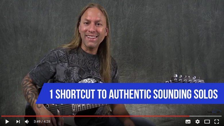 1 Shortcut To Authentic Sounding Solos