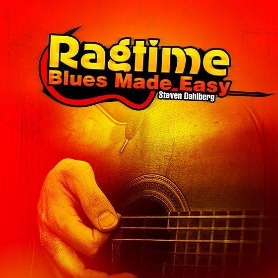Easy ragtime guitar