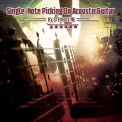 single-note-picking-on-acoustic-guitar