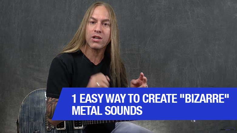 "1 Easy Way To Create ""Bizarre"" Metal Sounds"