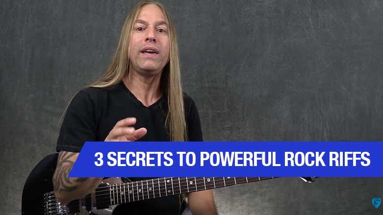 3 Secrets to Powerful Rock Riffs