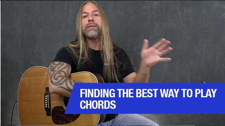 Finding The Best Way To Play Chords