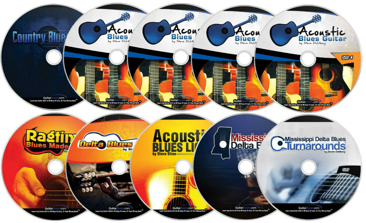 Acoustic Blues Skills Booster