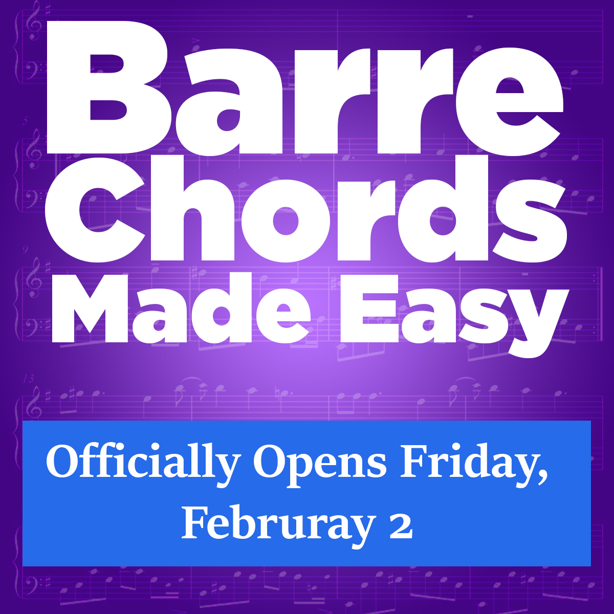 5 Tips For Better Barre Chords Guitarzoom Play Guitar Now