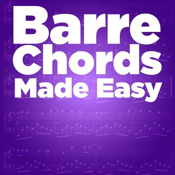 Barre Chords Made Easy - Guitarzoom.com • Play Guitar Now with ...