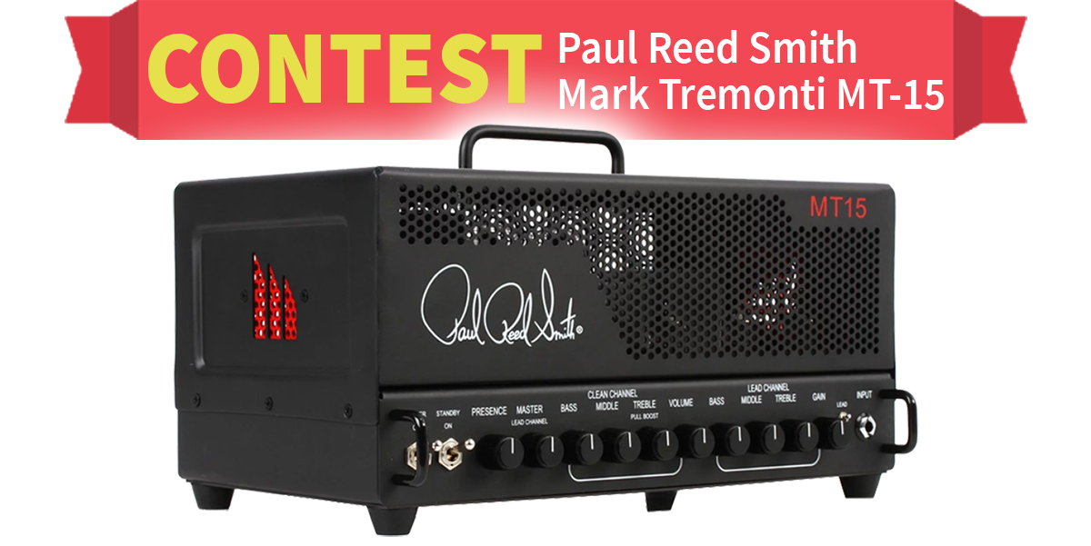 Paul Reed Smith Mark Tremonti MT-15 Contest