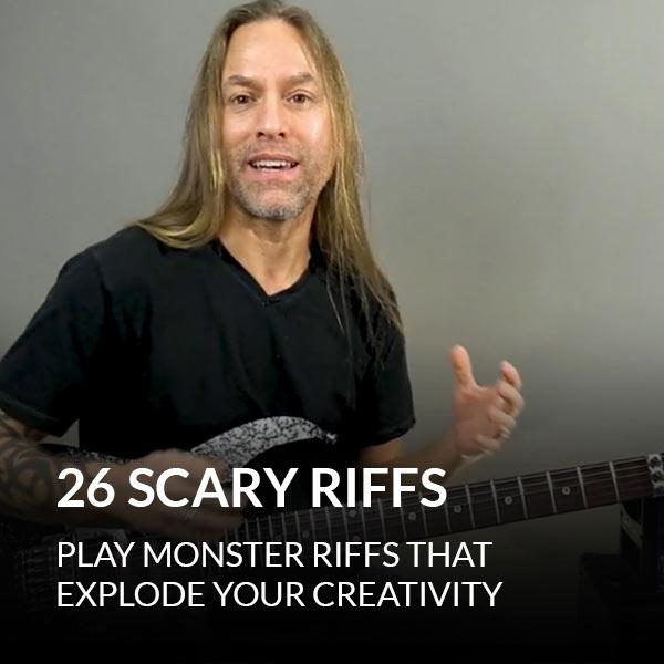 26 Scary Riffs